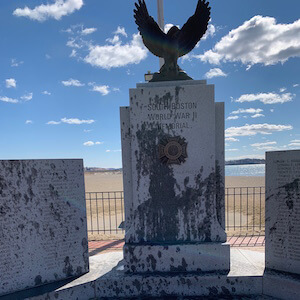 World War II Memorial Vandalized South Boston